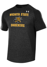 Under Armour Wichita State Shockers Black Freestyle Long Line Tee