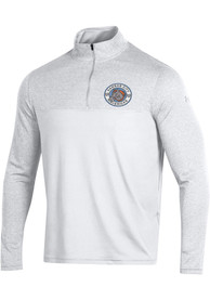Under Armour Kansas City Mavericks White Scratch 1/4 Zip Pullover