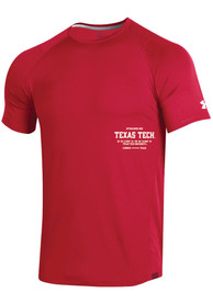 Texas Tech Red Raiders Under Armour Sideline MK1 T Shirt - Red