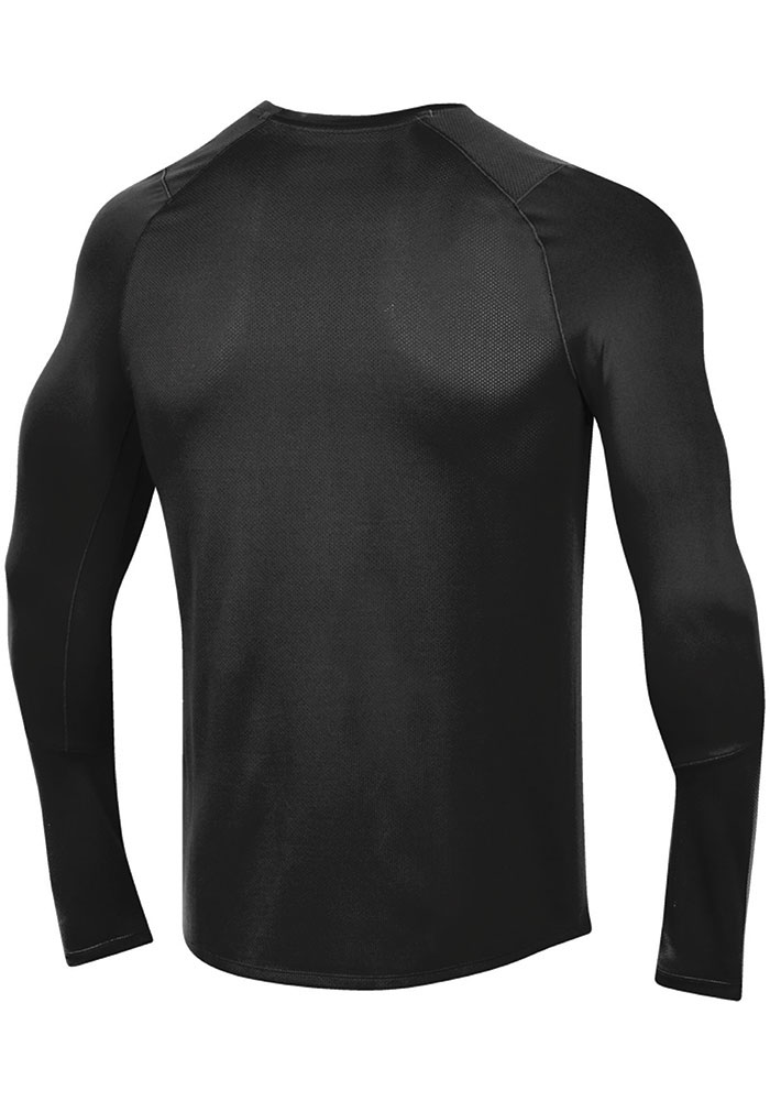 Under Armour Texas Tech Red Raiders Black Sideline Training Long Sleeve T-Shirt - Image 2
