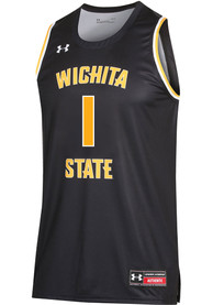 Wichita State Shockers Under Armour Replica Basketball Jersey - Black