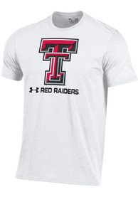 Texas Tech Red Raiders Under Armour Charged Cotton T Shirt - White