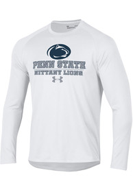 Under Armour Penn State Nittany Lions White Tech Tee