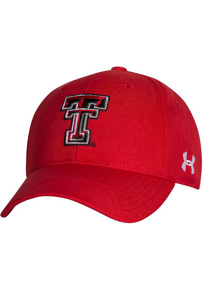 Under Armour Texas Tech Red Raiders OTS Structured Adjustable Hat - Red - Image 1