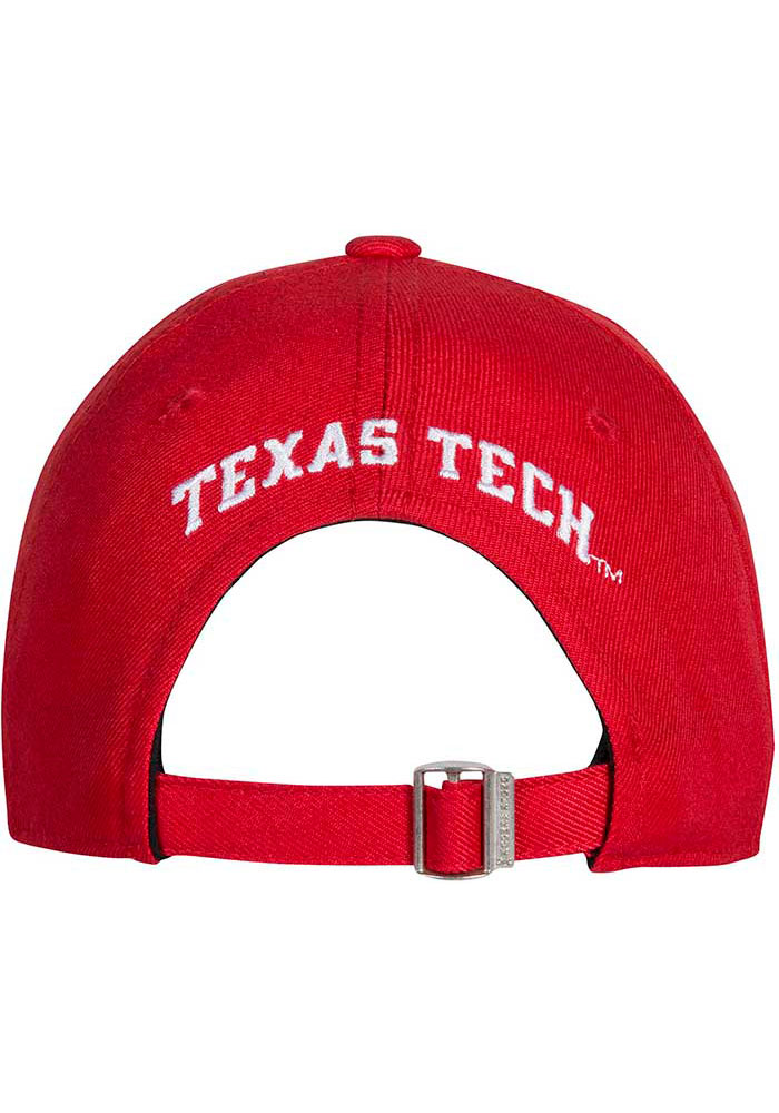 Under Armour Texas Tech Red Raiders OTS Structured Adjustable Hat - Red - Image 2