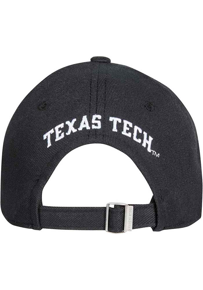 Under Armour Texas Tech Red Raiders OTS Structured Adjustable Hat - Black - Image 2