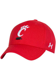 Under Armour Cincinnati Bearcats OTS Structured Adjustable Hat - Red