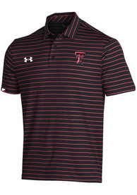 Texas Tech Red Raiders Under Armour F20 Sideline Easy Polo Shirt - Black