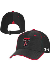 Texas Tech Red Raiders Under Armour Sideline Isochill Blitzing Accent Adjustable Hat - Black