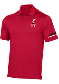 Cincinnati Bearcats Under Armour Elevated Polo Shirt - Red