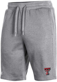 Texas Tech Red Raiders Under Armour All Day Shorts - Grey