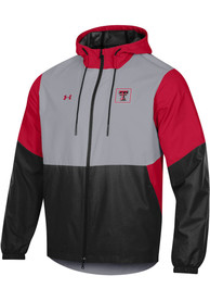 Texas Tech Red Raiders Under Armour Fieldhouse Light Weight Jacket - Black