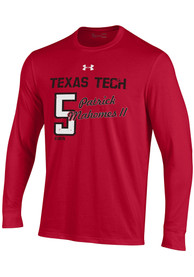 Patrick Mahomes Texas Tech Red Raiders Under Armour Shooter Long Sleeve T-Shirt - Red