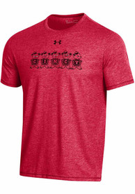 Cincinnati Bearcats Under Armour Bi-Blend Fashion T Shirt - Red