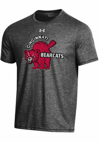 Cincinnati Bearcats Under Armour Bi-Blend Fashion T Shirt - Black