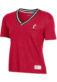 Cincinnati Bearcats Womens Under Armour Gameday T-Shirt - Red