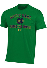 Notre Dame Fighting Irish Under Armour Number One Fighting Irish T Shirt - Green