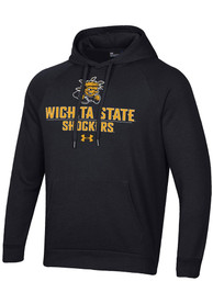 Wichita State Shockers Under Armour All Day Hooded Sweatshirt - Black