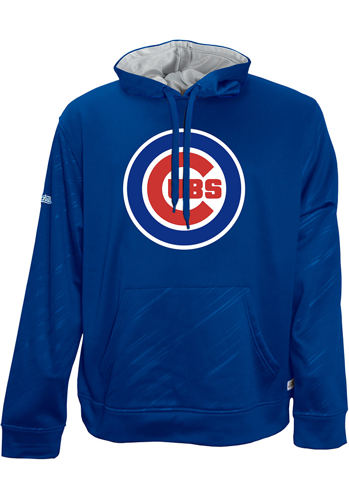 Chicago Cubs Mens Blue Proud Logo Hoodie