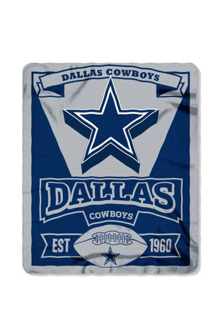 Dallas Cowboys Big Logo Fleece Blanket