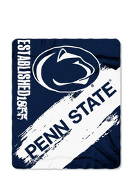 Penn State Nittany Lions 50x60 Painted Fleece Blanket