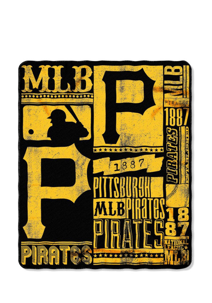 Pittsburgh Pirates 50x60 Strength Fleece Blanket - Image 1