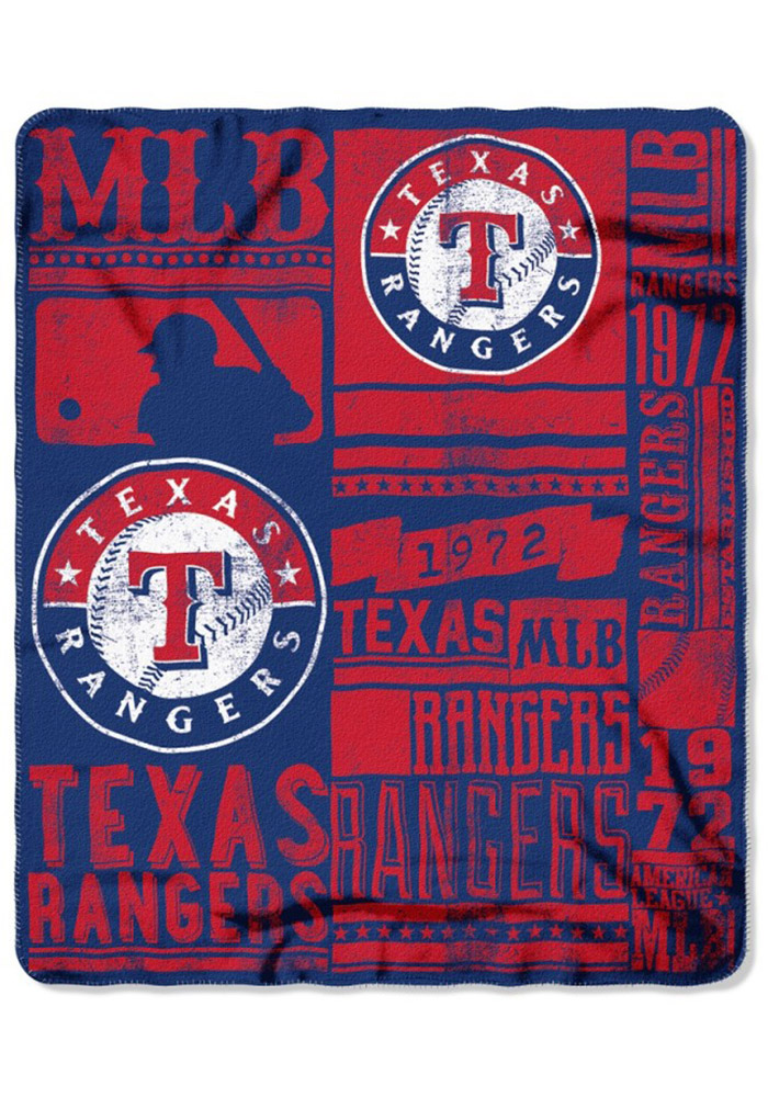 Texas Rangers 50x60 Strength Fleece Blanket - Image 1