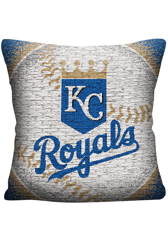 Kansas City Royals 20x20 Eclipse Jacquard Pillow - Image 1