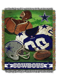 Dallas Cowboys Vintage Woven Tapestry Blanket
