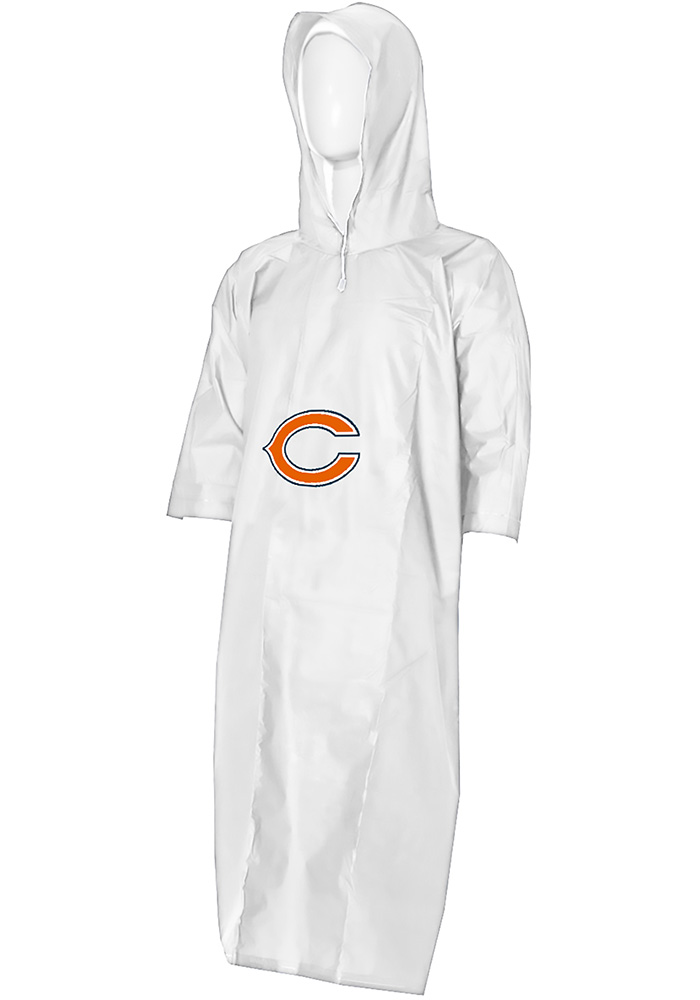 Chicago Bears 44x49 Lightweight Clear Poncho - Image 1