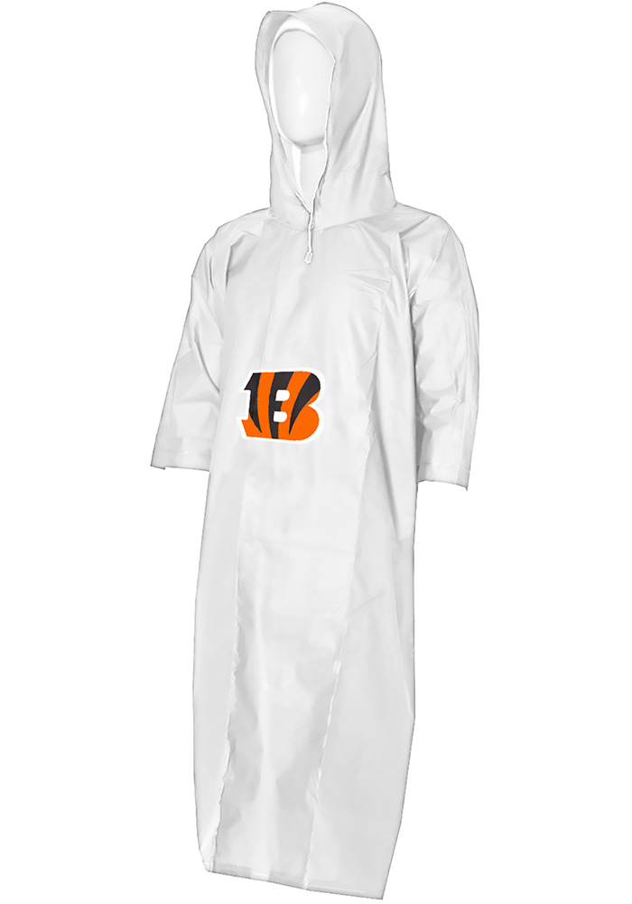 Cincinnati Bengals 44x49 Lightweight Clear Poncho - Image 1