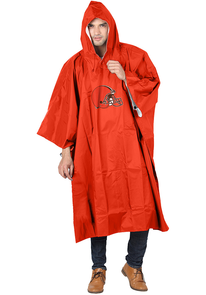 Cleveland Browns 44x49 Deluxe Poncho - Image 1