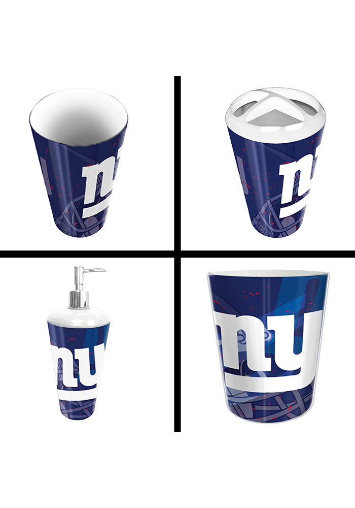 New York Giants 4-Piece Bathroom Set - Image 1