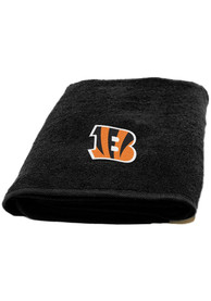 Cincinnati Bengals Black 25x50 Bath Towels