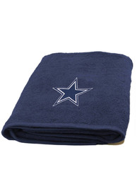 Dallas Cowboys Navy Blue 25x50 Bath Towels