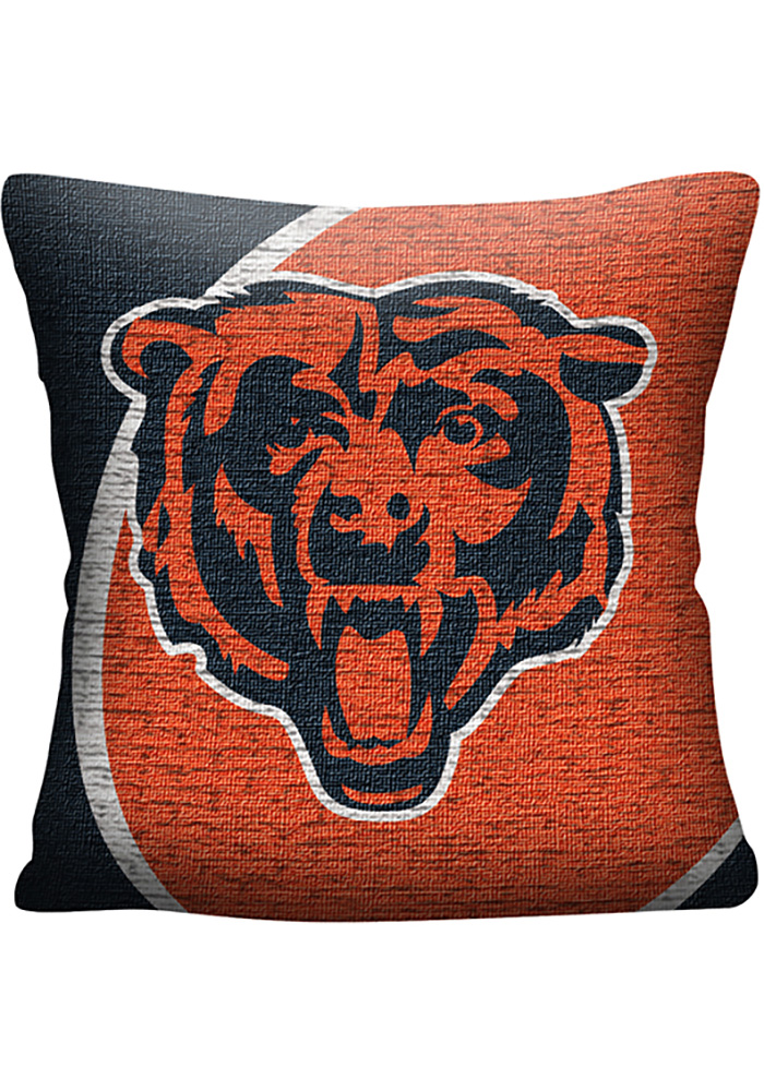 Chicago Bears 20x20 Portal Jacquard Pillow - Image 1