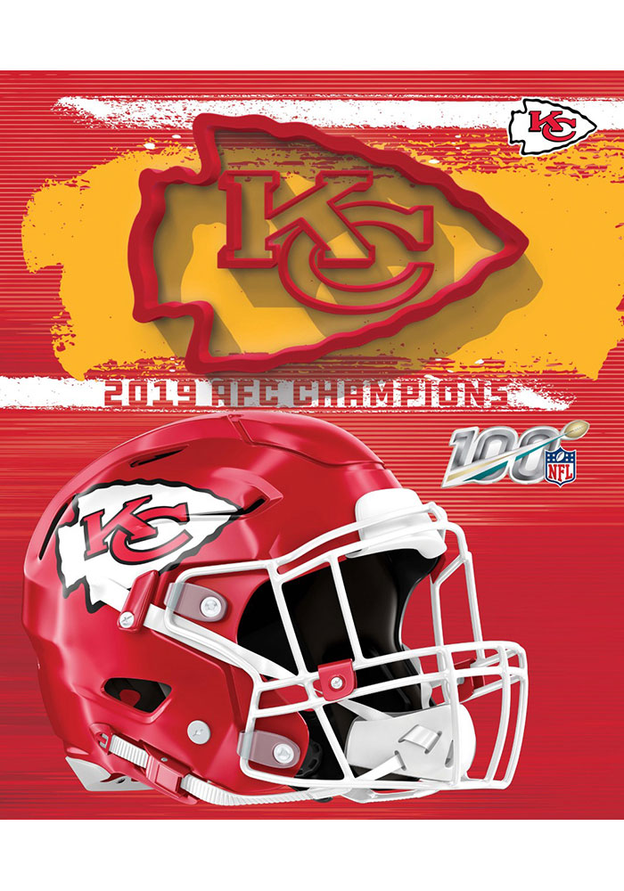 Kansas City Chiefs Silk Touch Throw Fleece Blanket - Image 1