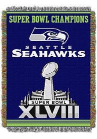 Seattle Seahawks 48x60 Commemorative Tapestry Blanket