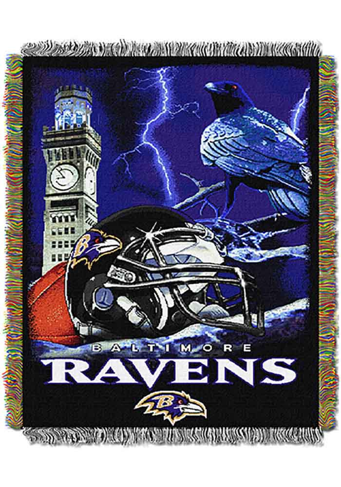 Baltimore Ravens 48x60 Home Field Advantage Tapestry Blanket - Image 1