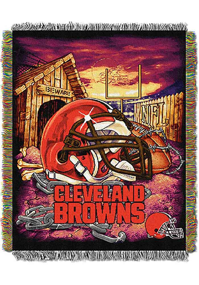 Cleveland Browns 48x60 Home Field Advantage Tapestry Blanket - Image 1