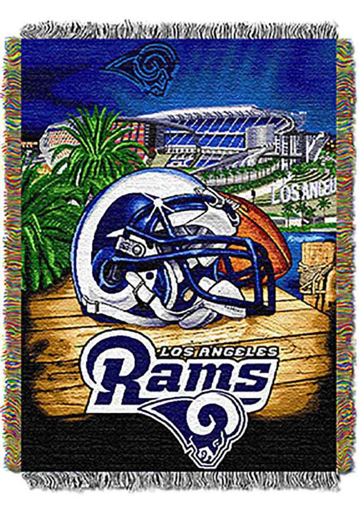 Los Angeles Rams 48x60 Home Field Advantage Tapestry Blanket - Image 1