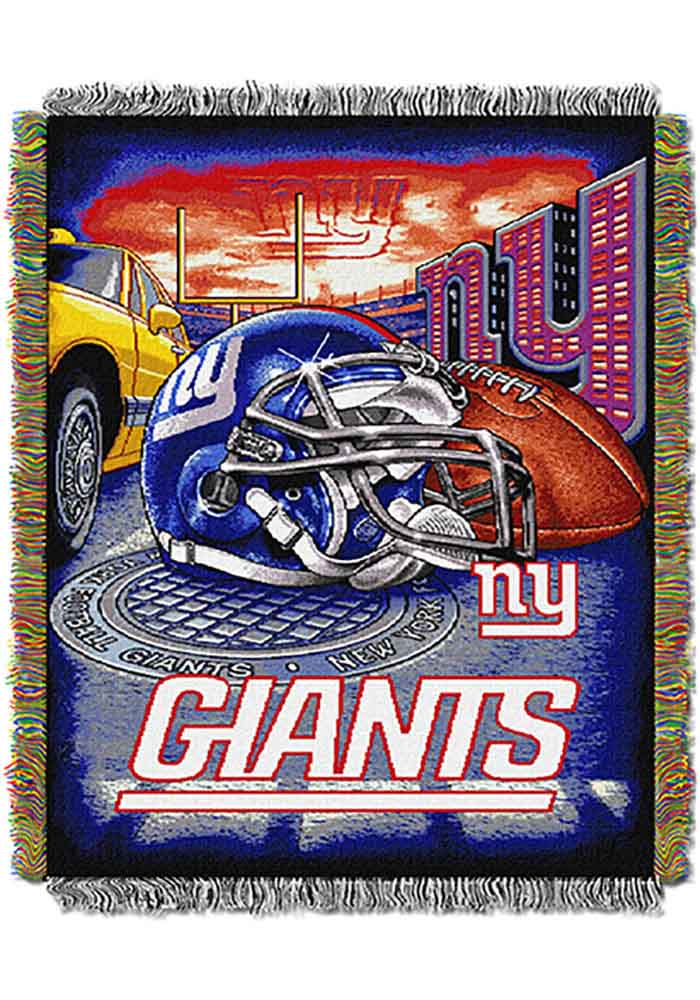 New York Giants 48x60 Home Field Advantage Tapestry Blanket - Image 1