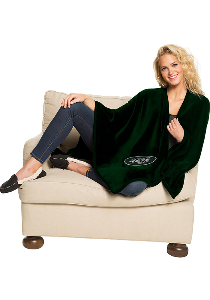 New York Jets Silk Touch Throw Blanket - Image 1