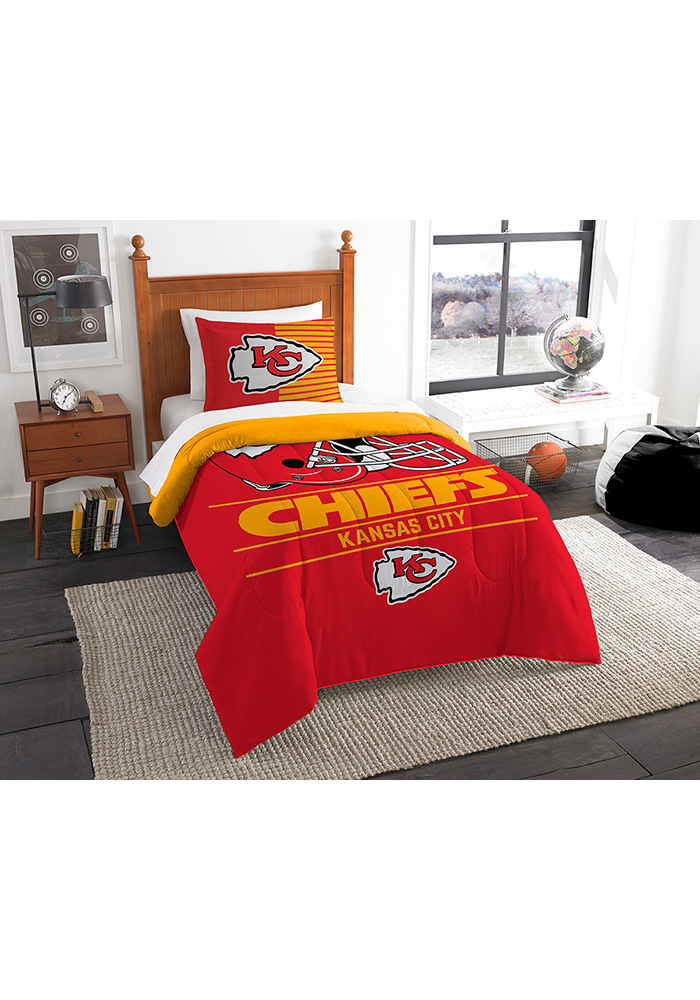 Kansas City Chiefs Draft Twin Comforter Set Comforter 5581137