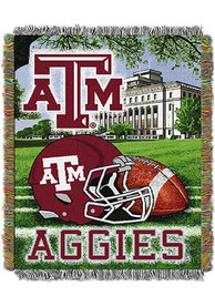 Texas A&M Aggies 48x60 Home Field Advantage Tapestry Blanket