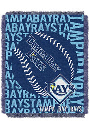 Tampa Bay Rays 46x60 Double Play Jacquard Tapestry Blanket