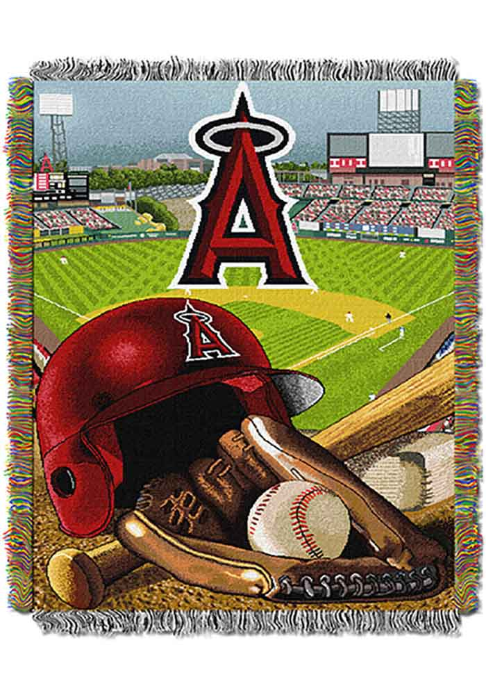 Los Angeles Angels 48x60 Home Field Advantage Tapestry Blanket - Image 1