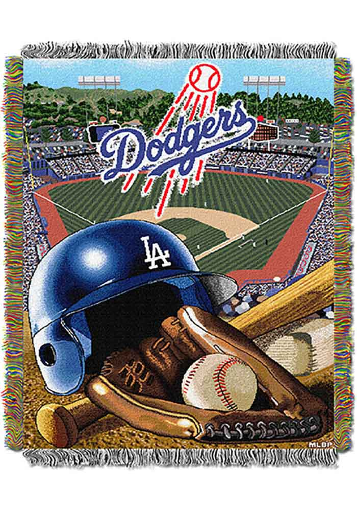 Los Angeles Dodgers 48x60 Home Field Advantage Tapestry Blanket - Image 1