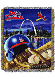 St Louis Cardinals 48x60 Home Field Advantage Tapestry Blanket