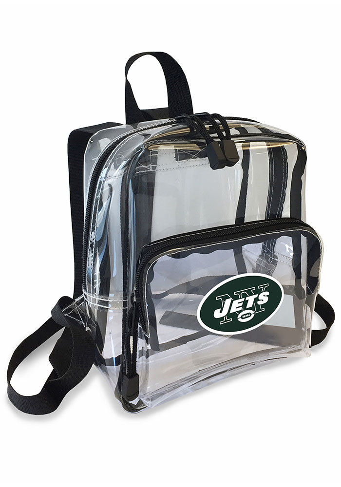 New York Jets White Stadium Approved Mini Backpack Backpack - Image 1